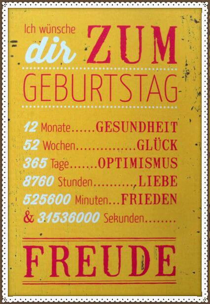 Поздравления и пожелания на немецком языке с днем рождения - alles gute zum geburtstag!
