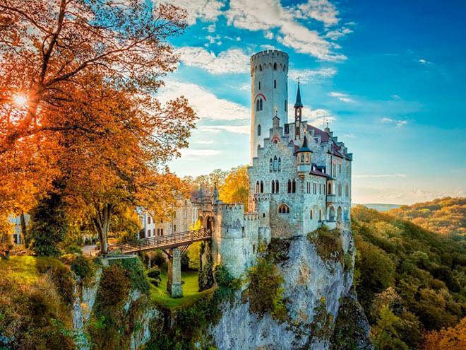 лихтенштайн замок в германии
