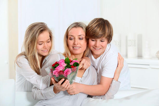 Как немцы проводят День Матери?