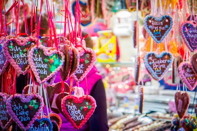 Сахарное сердце и записки от Валентина