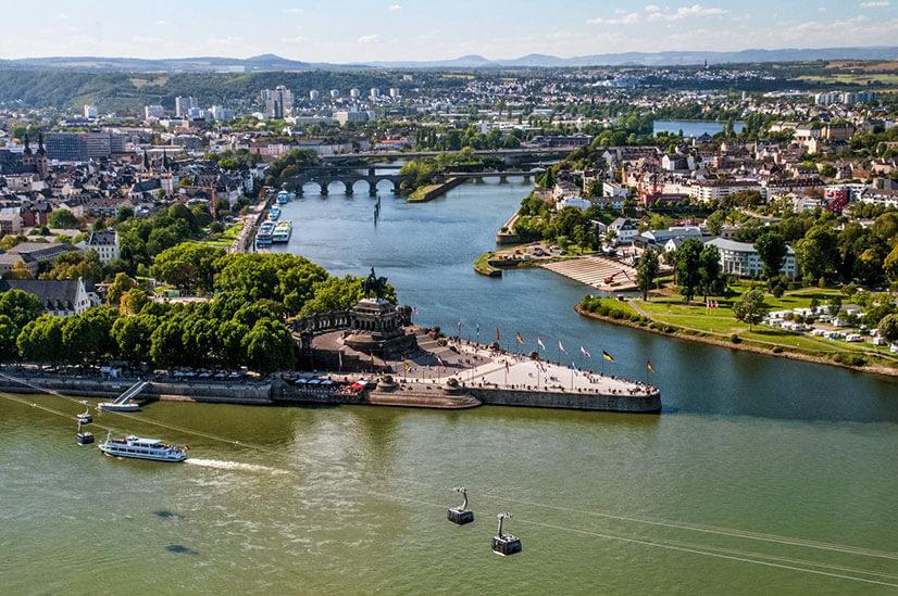 река рейн германия