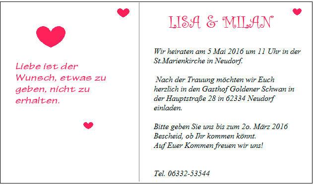 Как написать пригласительные на день рождения на немецком