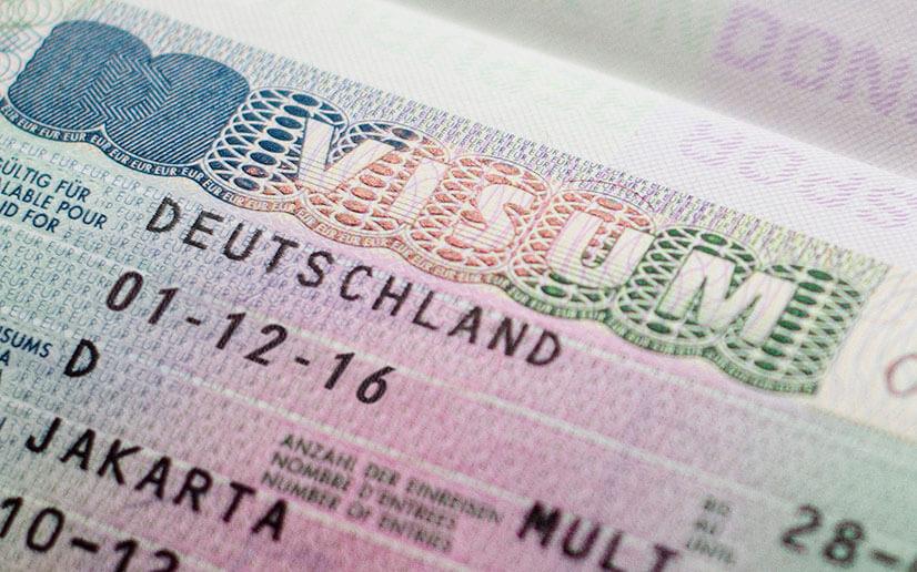 Как получить национальную визу в посольстве Германии?
