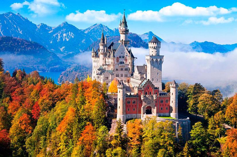 152/замки на карте германии