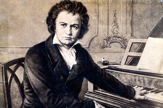 Краткая биография Людвига ван Бетховена на немецком языке с переводом