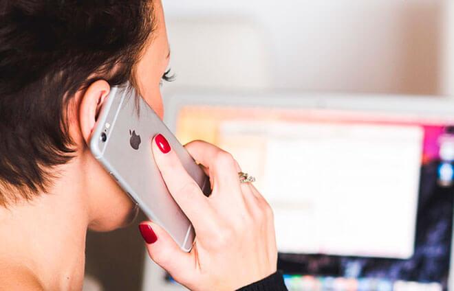Пример диалога разговора по телефону