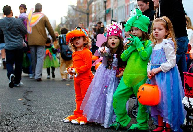 Детский Хэллоуин в Германии