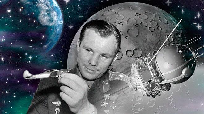 Lebensweg von Juri Gagarin